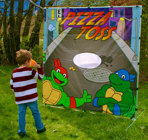 Pizza Toss Backyard Game Rental Cleveland TN