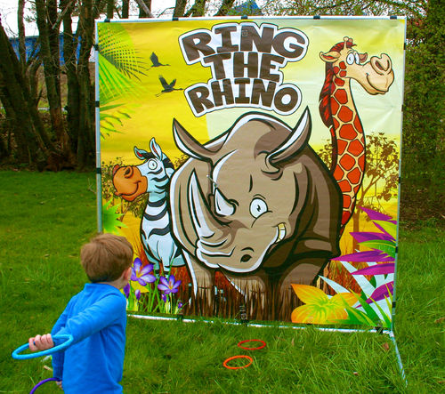 Ring the Rhino Backyard Game Cleveland TN