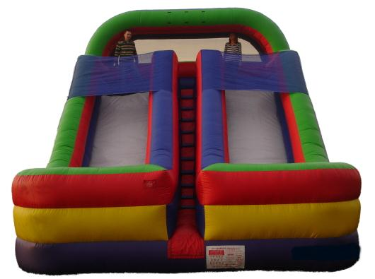 Double Dry Slide Inflatable Renta Cleveland TNl