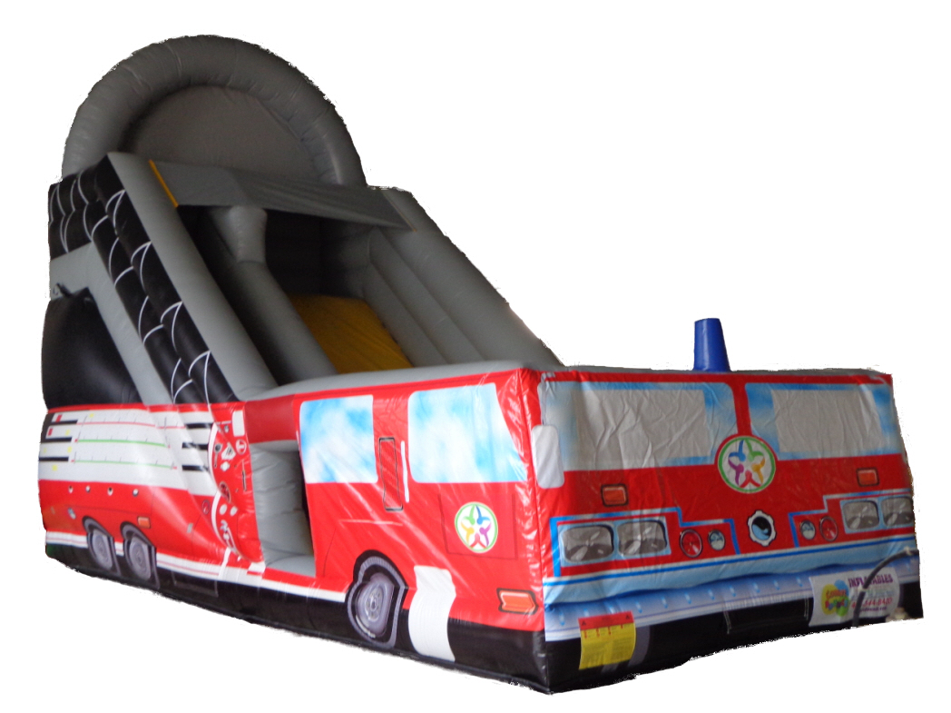 Fire Truck Inflatable Slide Rental Cleveland TN