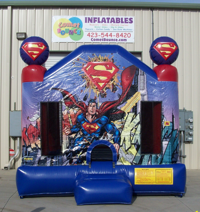 Moonwalk-Bounce-House-Superman
